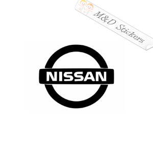 2x Nissan Logo Vinyl Decal Sticker Different colors & size for Cars/Bikes/Windows