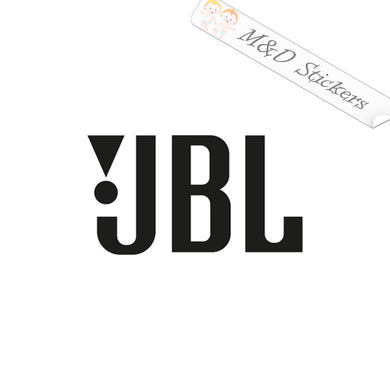 2x JBL Vinyl Decal Sticker Different colors & size for Cars/Bikes/Windows