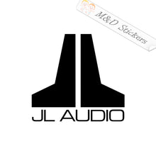 2x JL audio Vinyl Decal Sticker Different colors & size for Cars/Bikes/Windows