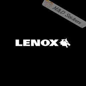 2x Lenox Tools Logo Vinyl Decal Sticker Different colors & size for Cars/Bikes/Windows