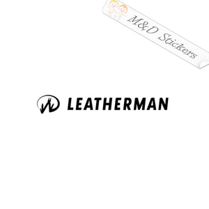 2x Leatherman Tools Logo Vinyl Decal Sticker Different colors & size for Cars/Bikes/Windows