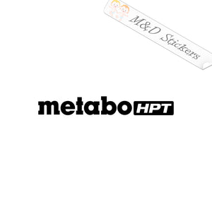 2x Metabo Tools Logo Vinyl Decal Sticker Different colors & size for Cars/Bikes/Windows