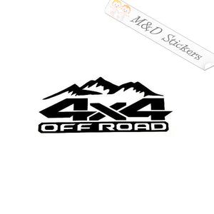 2x 4x4 OffRoad Vinyl Decal Sticker Different colors & size for Cars/Trucks/SUVs/Windows
