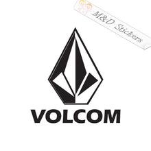 2x Volcom Logo Vinyl Decal Sticker Different colors & size for Cars/Bikes/Windows