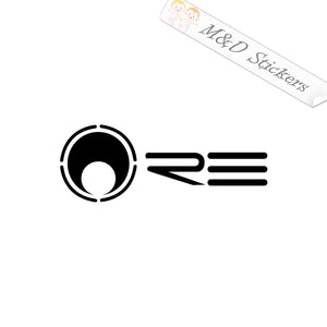 2x Re audio Vinyl Decal Sticker Different colors & size for Cars/Bikes/Windows