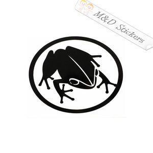 2x Coqui Frog Puerto Rico Vinyl Decal Sticker Different colors & size for Cars/Bikes/Windows