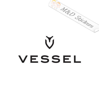 2x Vessel Golf Logo Vinyl Decal Sticker Different colors & size for Cars/Bikes/Windows