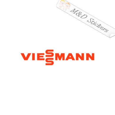 2x Viessmann Logo Vinyl Decal Sticker Different colors & size for Cars/Bikes/Windows