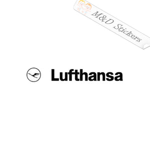 2x Lufthansa airlines Logo Vinyl Decal Sticker Different colors & size for Cars/Bikes/Windows