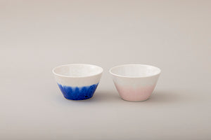 gradation deep blue multi bowl