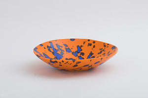 splash orange variation bowl L