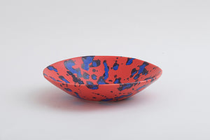 splash red variation bowl L