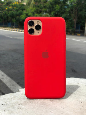 Red Silicone Case