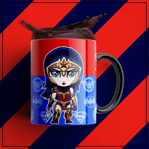 Wonder Woman Coffee Mugs