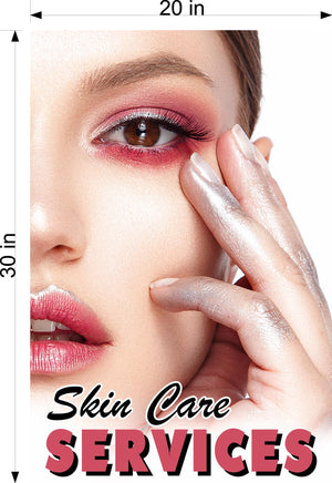 Skin Care 05 Photo-Realistic Paper Poster Premium Matte Interior Inside Sign Advertising Wall Window Non-Laminated Vertical