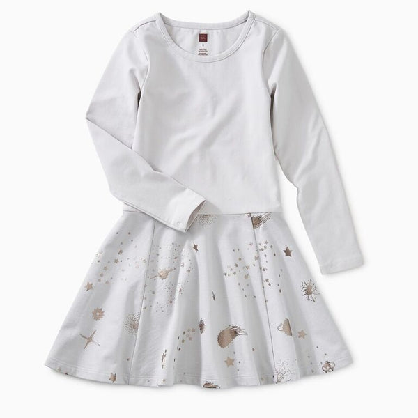 Tea - Vapor Starry Skies Skirted Dress Sizes 2 - 8