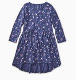 Tea - Winter Blooms Hi-Lo Dress (Sizes 10-16)