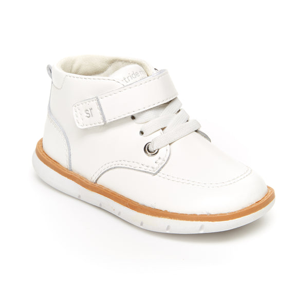 Stride Rite - White Leather Quinn's 5.5