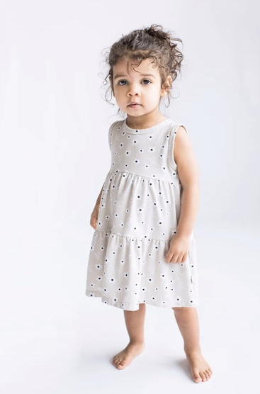 Tiny Button - Floral BabyDoll Dress