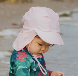 Honeysuckle - Swim Hat Pink 0-6m
