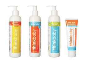 thinkbaby - Sunscreen, Bubble Bath, Lotion, Shampoo/Body Wash