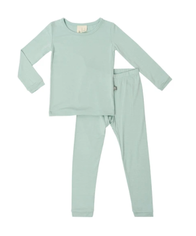 Kyte Bamboo - Toddler Set Sage 3-6T