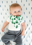 Copper Pearl - Woodland Bandana Bibs (4pack)