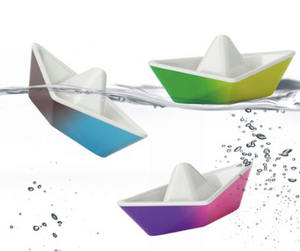 Color Changing Origami Boats