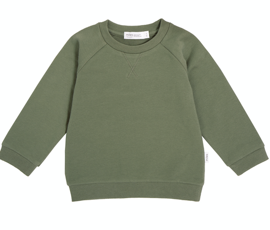 Miles Baby - Khaki Pullover Size 6-24m