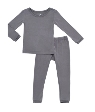 Kyte - LS Toddler Set Charcoal 2-6T
