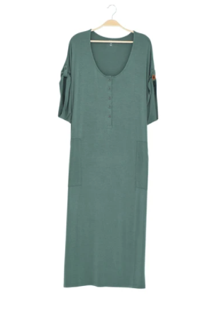 Kyte - Ladies Lounge Dress Pine M
