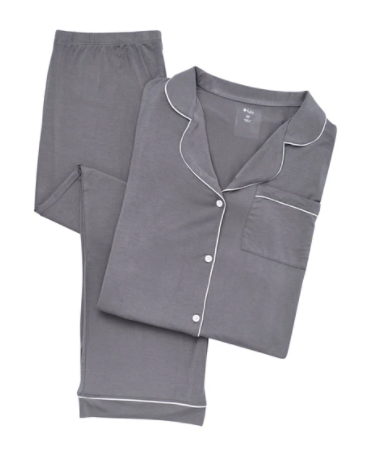 Kyte - Charcoal Women's LS PJ Set M-L