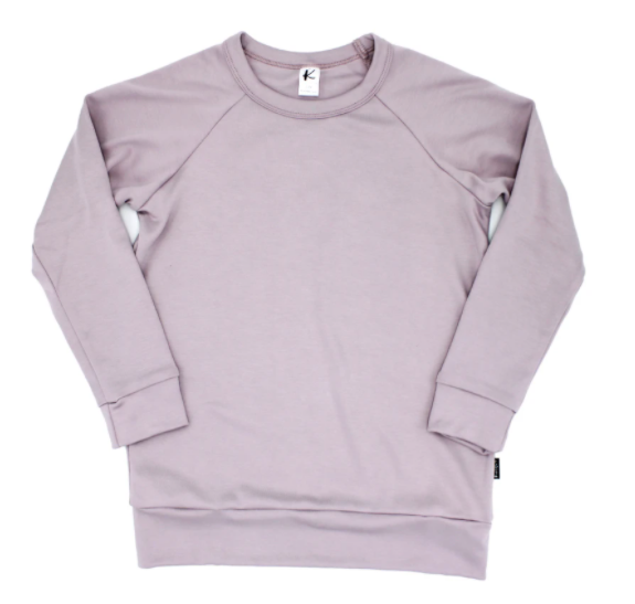 Little & Lively - Mauve Pullover 6m-6T