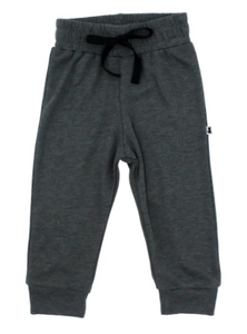 Little & Lively - Charcoal Joggers 0-6T