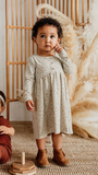 Jax & Lennon - Speckles Peplum Dress 6m-5y