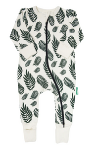 Parade - Leaves LS Romper 0-2T