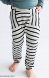 Tiny Button - Stripes Harem Joggers COMING SOON
