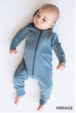 Tiny Button - Mirage Hooded Romper