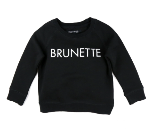 Brunette the Label - Brunette Kids Crew 2/3T