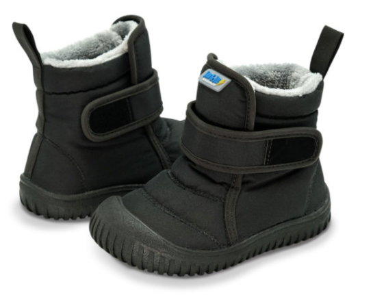 Jan & Jul - Black Toasty Dry Booties Sizes 9-11
