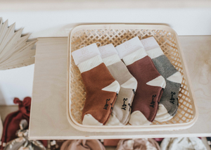 Jax & Lennon - Kids Cozy Socks