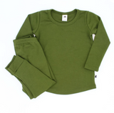 Little & Lively - Bamboo/Cotton PULLOVER Cactus 0-2T