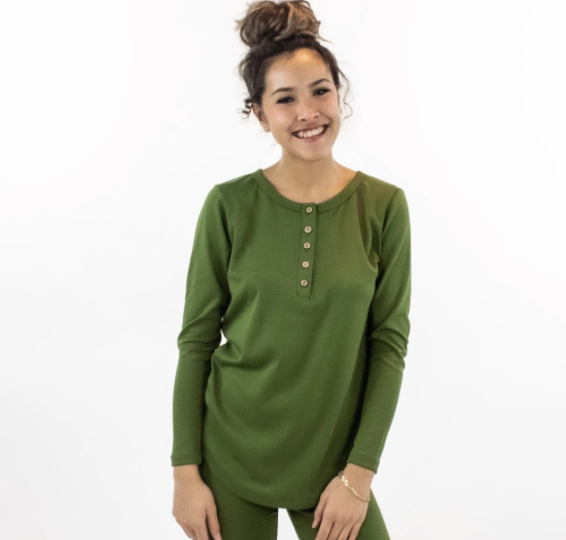 Little & Lively - Ladies Cactus Henley S