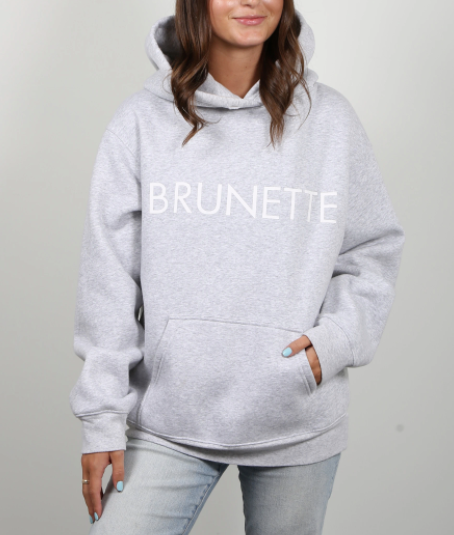 Brunette the Label - Brunette Classic Pebble Grey Hoodie XS/S