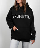 Brunette the Label - Brunette Classic Black Hoodie