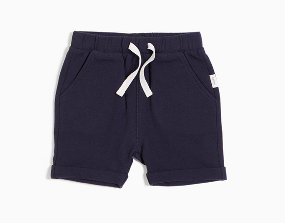 Miles Baby - Navy Basic Short 3m-6