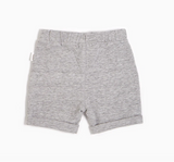 Miles Baby - Heather Grey Basic Short 3m-6