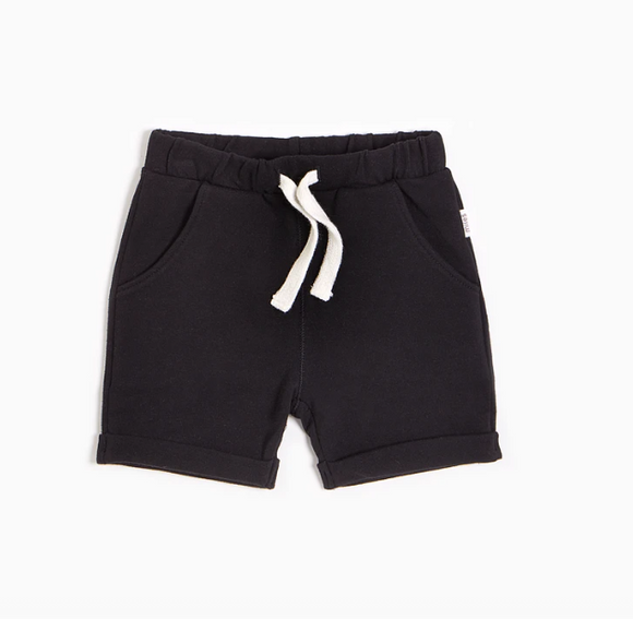 Miles Baby - Black Basic Short 3m-6