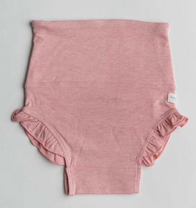 Loulou Lollipop - Heather Pink Ruffle Bloomers 0-24m