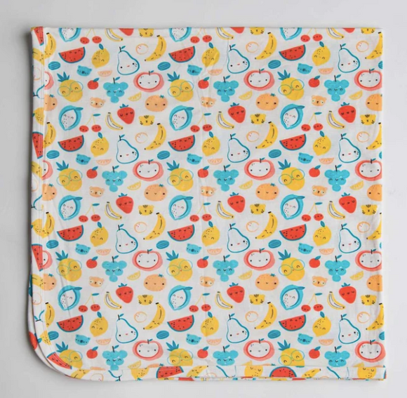 Loulou Lollipop - Fruity Stretch Knit Blanket